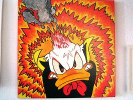 Donald very angry by engelchen9378