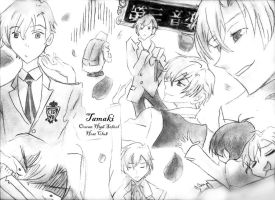 Ouran's Tamaki by savannahbelle13