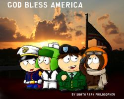 South Park Armed Forces by SouthParkPhilosopher