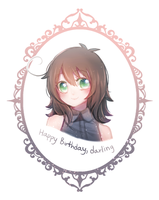 HBD to my love by Black-Bamboo