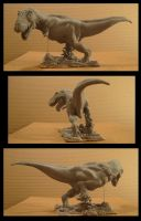 TRex sculpture TA 1 by yerduf