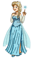 [Commission15] Frozen: Snow Queen Elsa by izka-197