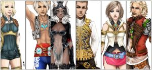Heroes of Ivalice by Czaritsa
