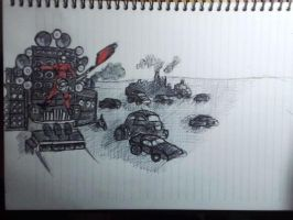 mad max sketch116 by Beastopop