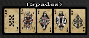 Haunted Cards - Spades by DickStarr