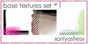 Base Texture Set 1 by xonlyashesx