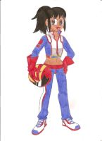 Sporting Gal: F1 Racer by animequeen20012003