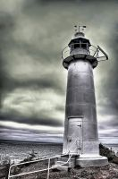 Kings Cove Lighthouse NL by Witch-Dr-Tim