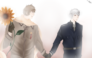 APH - Russia x Prussia by QuyenT
