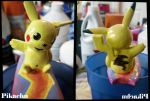 Pikachu finished by Squidneyz
