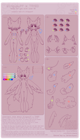 Wingupuff x TAMED Species Sheet by Valyriana
