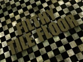 Filthy Tile Floor Texture Pack by SugaSuga42