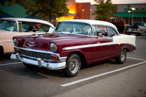 1956 Chevy Bel Air by Dbl-Dzl