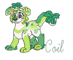 Coil the Cloverpup by September-Colors