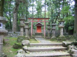 Japanese Temple Stock 2 by soulside-wanderer