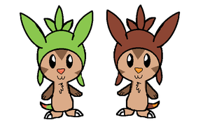 Chespins by Tori-the-Eevee1234