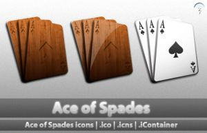 Ace of Spades icons by MDGraphs
