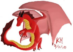 Red Dragon by clarinetplayer
