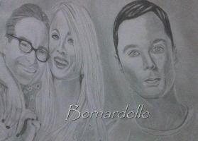 The Big Bang Theory by Bernardelle