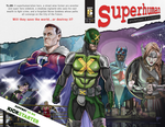 Superhuman Cover Masthead PRINT by soonergriff