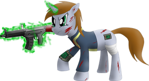 Littlepip Assault by JetWave