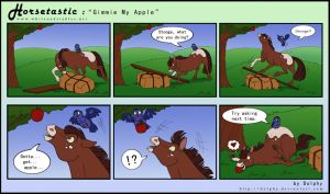 Horsetastic - Gimmie My Apple by DolphyDolphiana