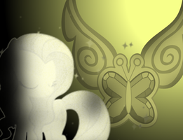 MLP FiM Crystalized WP: Fluttershy by gamerbro1