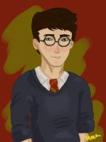 a true gryffindor by jitterfly