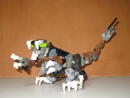 lego bionicle - raptor by retinence