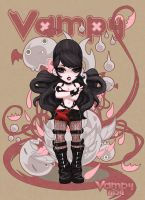 """Vampy Illo"" by VampBeauty"