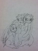 Hearts and diamonds :WIP: by His-Puppet118