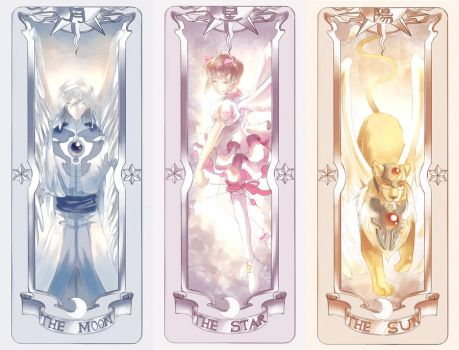 Cardcaptor Sakura Bookmarks by Keilis