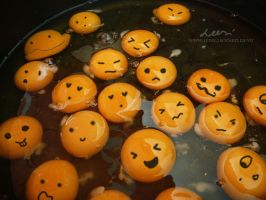 Smiling faces by leeri