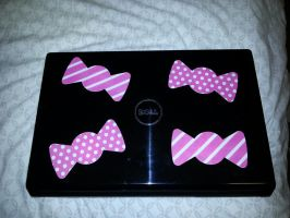 Dell Bumpbows Edition Notebook back by dev-catscratch