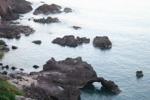 rocky coast 07. by greenleaf-stock