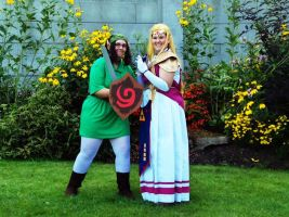 More Little Link and Older Zelda by ShesAPiratee