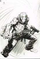 Abe Sapien Sketch by Stephen-Green