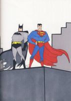 Bats n Supes by CaperGirl