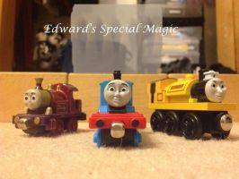 Edward's Special Magic Poster 2 by steamdiesel