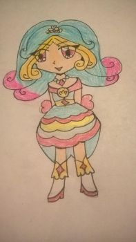 Princess Perfume as Pretty Cure by MicrophoneCandy
