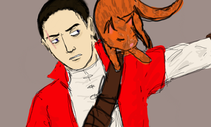daud and kitty by rabidminimoose