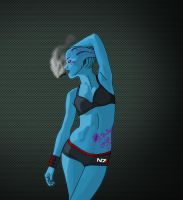 Mass Effect Asari by the-void-gate