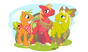 Sweet Apple Acres Boys by EllisArts