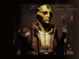 Thane Krios Wallpaper by LadySiha
