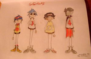 GorillaZ by maybe55