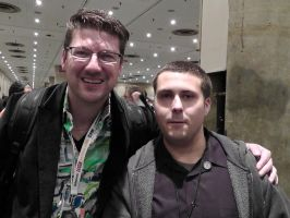 I got a photo with Randy Pitchford! by FUBARProductions