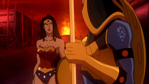 Wonder Woman and Big Barda by Magic-Woman