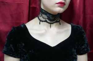 Gothic Lolita Choker 2 by Estylissimo