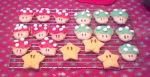 mushroom and star suger cookies ^^ by MarioXMariana