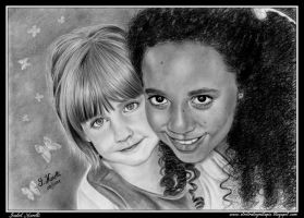 Sara y Berta (my daugther and my niece) by iSaBeL-MR